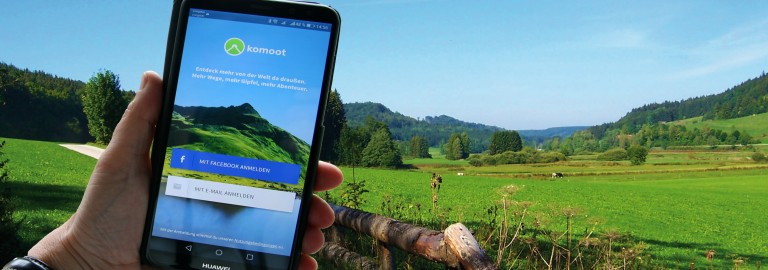 komoot - die Outdoorapp